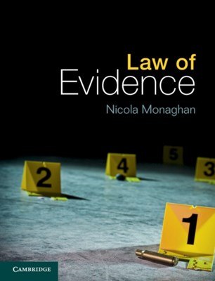 Law of Evidence Nicola (Coventry University) Monaghan 9781107604612