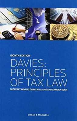 Davies: Principles of Tax Law Sandra Eden 9780414037489