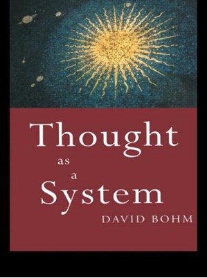 Thought as a System David Bohm, Chris (Brunel University Jenks 9780415110303
