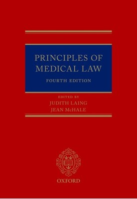 Principles of Medical Law  9780198732518