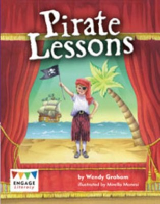 Pirate Lessons Pack of 6 Wendy Graham 9781406295832