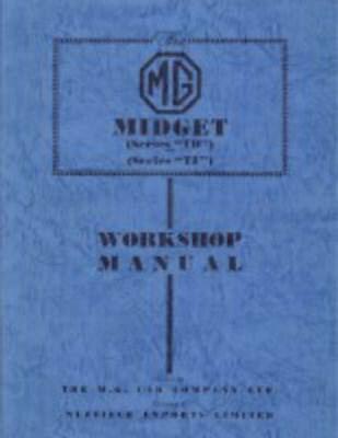 MG Midget TD & TF Workshop Manual  9781870642552