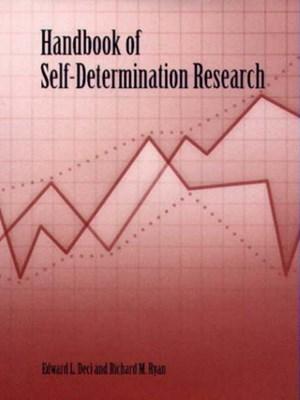 Handbook of Self-Determination Research  9781580461566