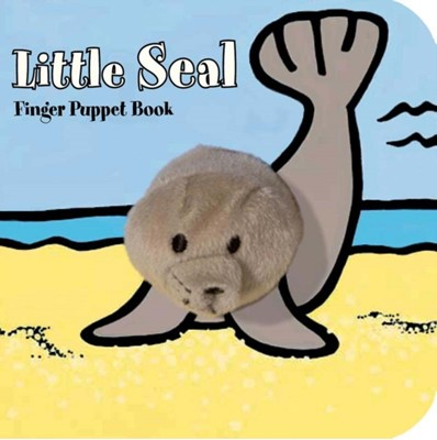 Little Seal Finger Puppet Book Image Books 9781452108124