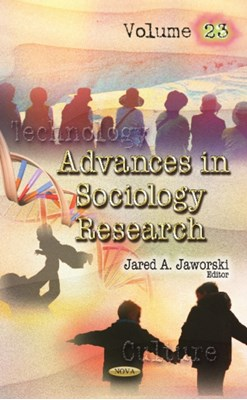 Advances in Sociology Research  9781536127188