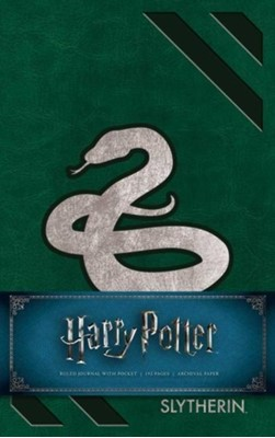 Harry Potter Slytherin Hardcover Ruled Journal Insight Editions 9781683833185