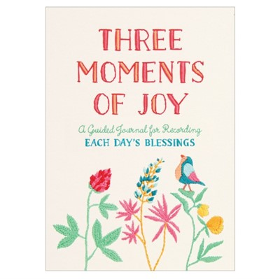 Three Moments of Joy Guided Journal  9780735355040