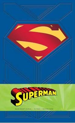 Superman Ruled Pocket Journal Manuel Martinez, Daniel Wallace 9781683830412