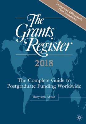 The Grants Register 2018  9781137592095