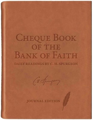 Chequebook of the Bank of Faith Journal C. H. Spurgeon 9781781917510