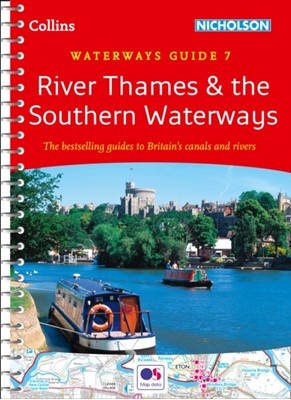 River Thames and Southern Waterways Collins Maps 9780008202040