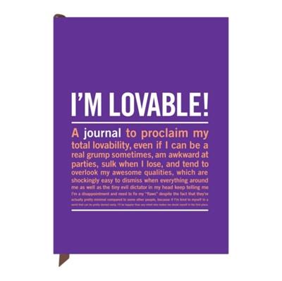 Knock Knock I`m Loveable Inner Truth Journal  9781601068835