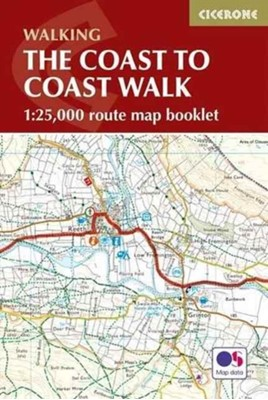 The Coast to Coast Map Booklet Terry Marsh 9781852849269