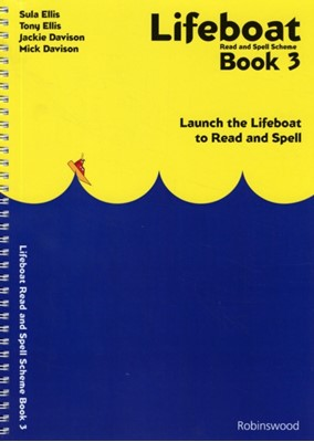 Lifeboat Read and Spell Scheme Jackie Davison, Mick Davison, Sula Ellis, Tony Ellis 9781869981648