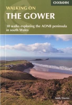 Walking on Gower Andrew Davies 9781852848217