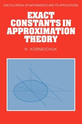 Encyclopedia of Mathematics and its Applications N. Korneichuk 9780521382342