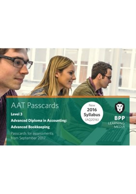 AAT Advanced Bookkeeping BPP Learning Media 9781509712410