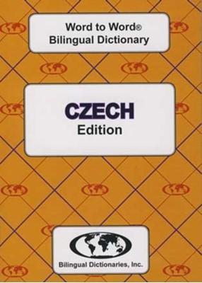 English-Czech & Czech-English Word-to-Word Dictionary C. Sesma 9780933146624