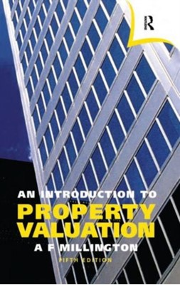 An Introduction to Property Valuation Alan Millington 9780728203501