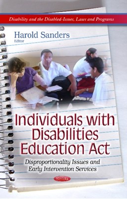 Individuals with Disabilities Education Act Harold Sanders 9781628081800