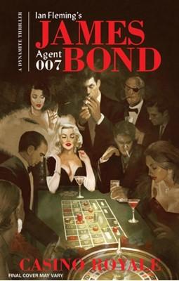 James Bond: Casino Royale Ian Fleming, Van Jensen 9781524100681