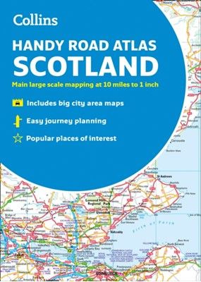 Collins Handy Road Atlas Scotland Collins Maps 9780008276393