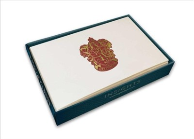 Harry Potter: Gryffindor Crest Foil Gift Enclosure Cards Insight Editions 9781683832751