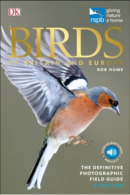 RSPB Birds of Britain and Europe Rob Hume 9780241302248