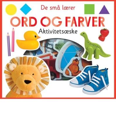 De små lærer - Ord og farver - aktivitetsæske  9788741500690