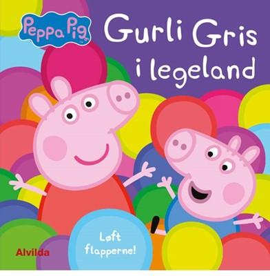 Peppa Pig - Gurli Gris i legeland - Løft flapperne  9788741504520