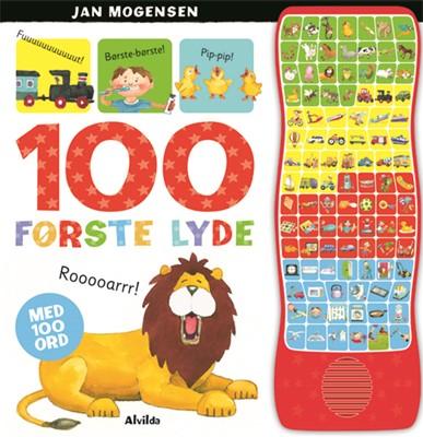 100 første lyde (med 100 ord) Jan Mogensen 9788741500072
