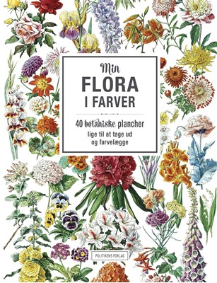 Min flora i farver  9788740038125
