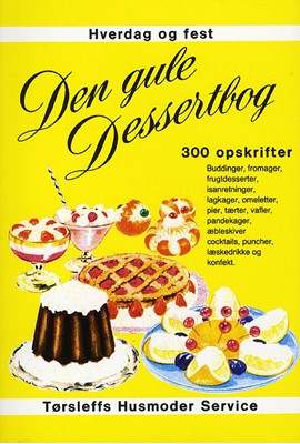 Den gule dessertbog  9788785168108
