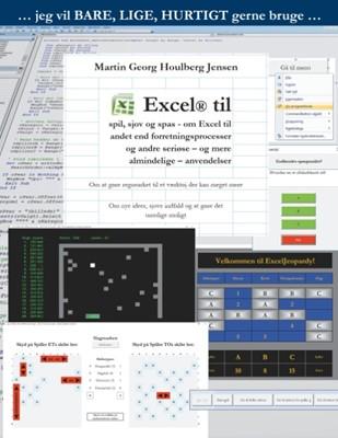 Excel til spil, sjov og spas Martin Georg Houlberg Jensen 9788743004301