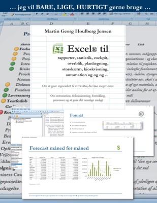 Excel til rapporter ... Martin Jensen, Martin Georg Houlberg Jensen 9788771881622