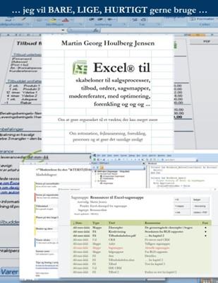 Excel til skabeloner ... Martin Jensen, Martin Georg Houlberg Jensen 9788771881998