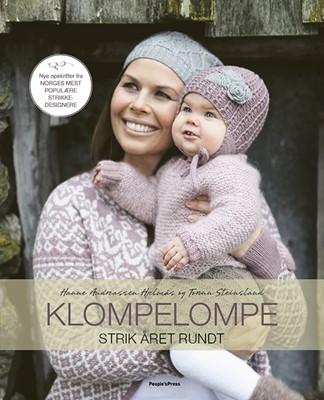 Klompelompe - Strik året rundt Hanne Andreassen Hjelmås, Torunn Steinsland 9788772003382