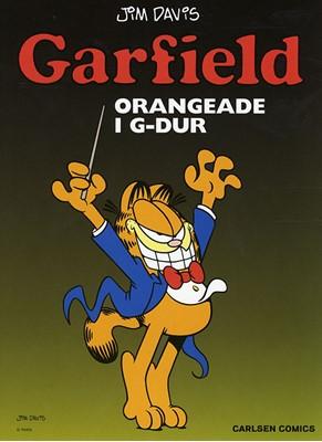 Garfield 23: Orangeade i G-dur Jim Davis 9788770853354