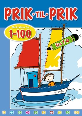 Prik til prik: 1-100 (skib)  9788772050867