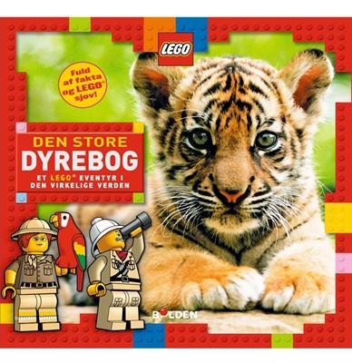 Den store dyrebog - Et LEGO® eventyr i den virkelige verden  9788772050003