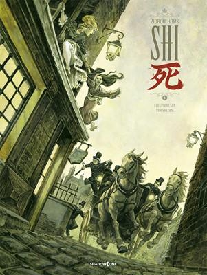 SHI 1 - I begyndelsen var vreden... Zidrou, José Homs 9788792048219
