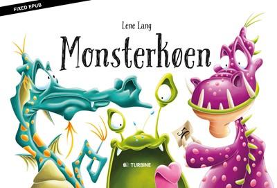 Monsterkøen Lene Lang 9788740621143