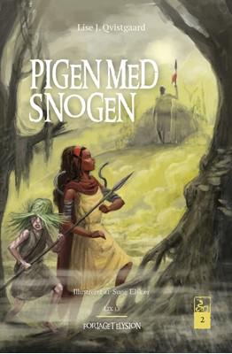 Pigen med snogen 2 Lise J. Qvistgaard 9788777199523