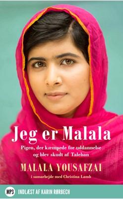 Jeg er Malala Malala Yousafzai 9788740019278
