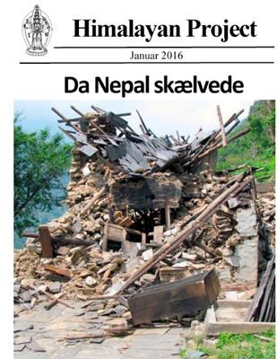 Da Nepal skælvede (sort-hvid) Namgyal Jangbu Sherpa, Janaki Khadka, Kurt Lomborg 9788771709186