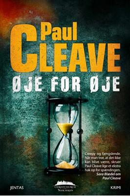 Øje for øje Paul Cleave 9788771075236