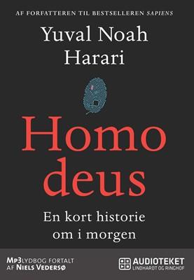 Homo Deus - En kort historie om i morgen Yuval Noah Harari 9788711836682