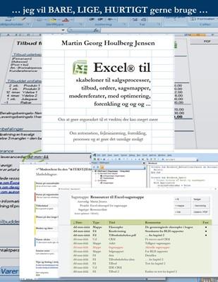 Excel til skabeloner ... Martin Georg Houlberg Jensen 9788799908271