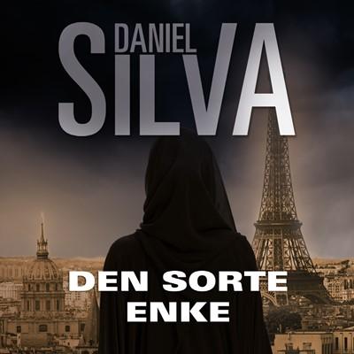 Den sorte enke Daniel  Silva, Daniel Silva 9789176332573