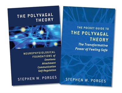 The Polyvagal Theory and The Pocket Guide to the Polyvagal Theory, Two-Book Set Stephen W. (University of North Carolina) Porges 9780393713077